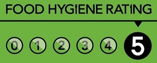 Food Hygiene 5 Rating for Rozis Grassington